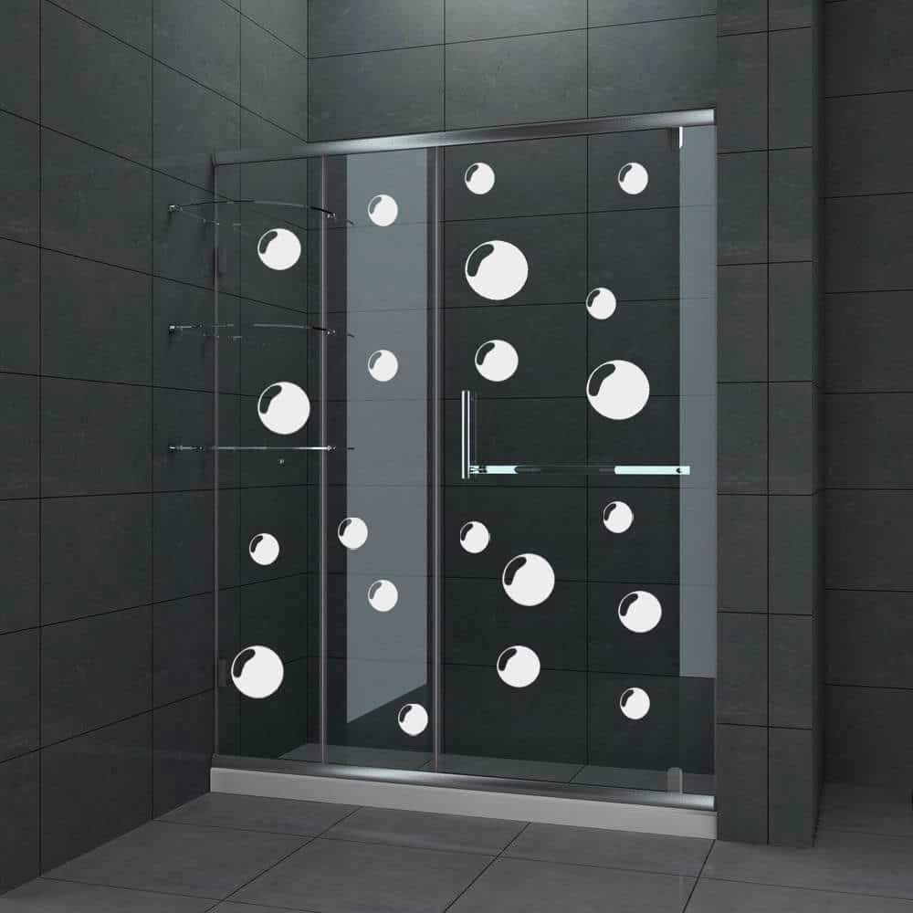 Bathroom Shower Door Decals House Decor Ideas