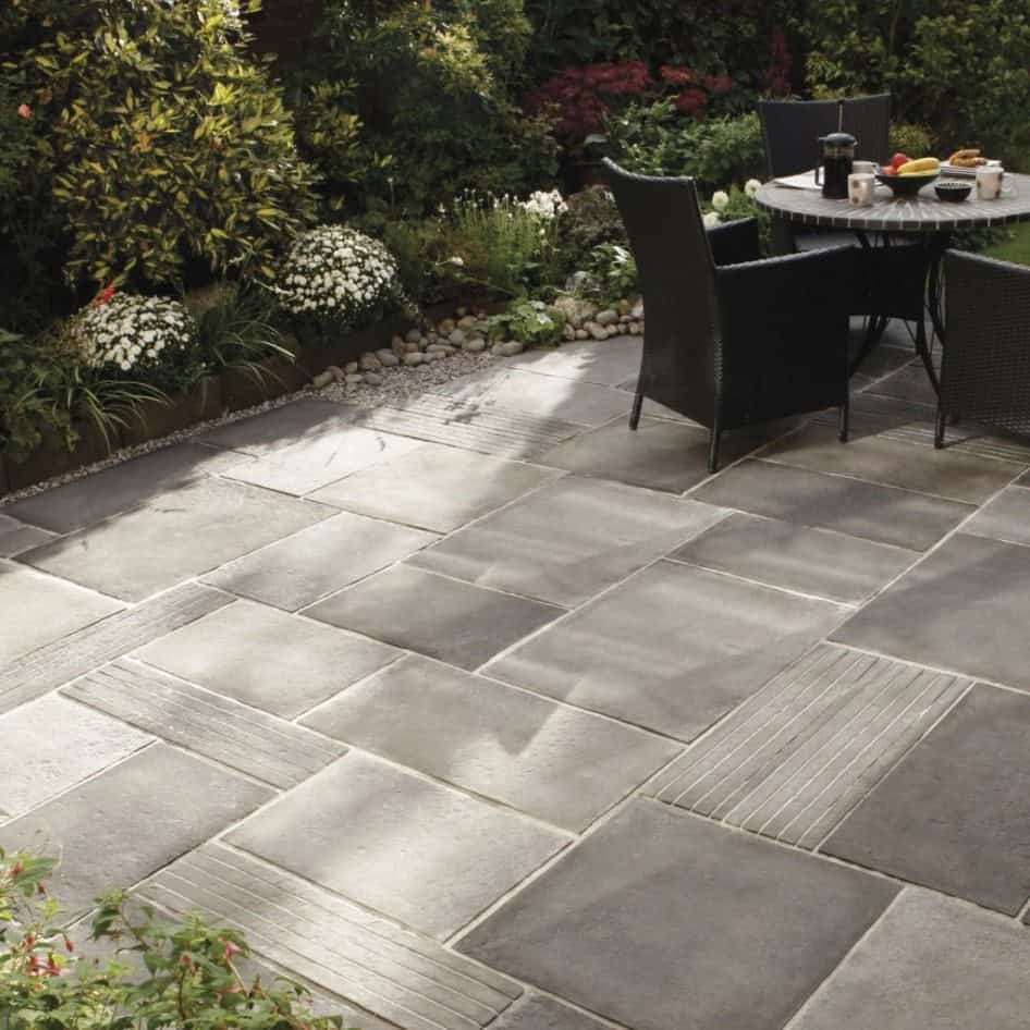 Patio Floor Tile Ideas Outdoor Patio Flooring Perforated