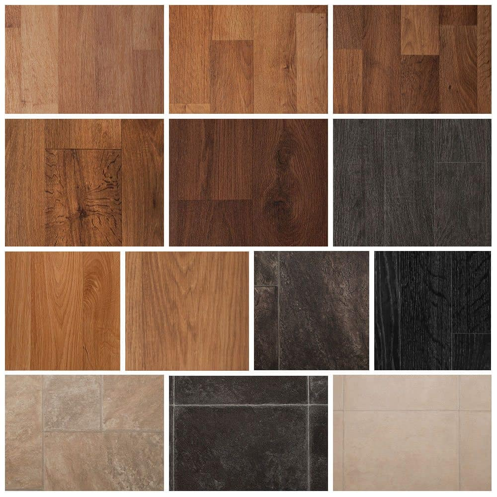 Rubber Floor Tiles Kitchen Solid Color Vinyl Flooring All About Flooring Designs
