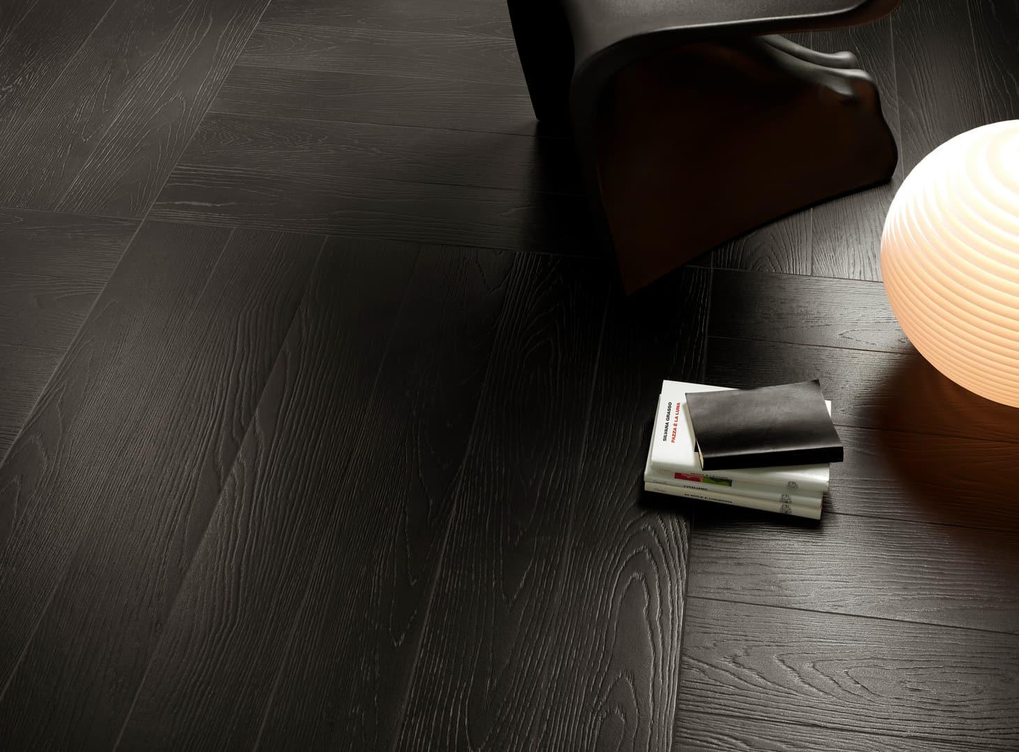 Wood Effect Tiles Decoration 1. Black Wood Floor Tiles