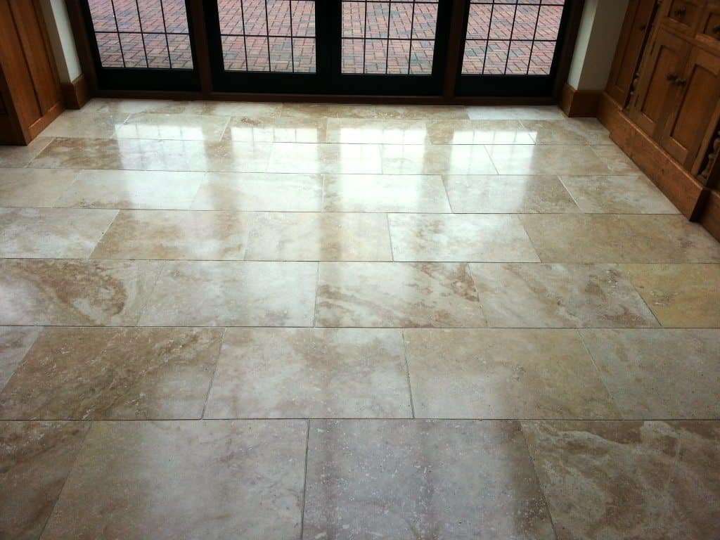 Travertine Floor Tiles Photo Contemporary Tile Design