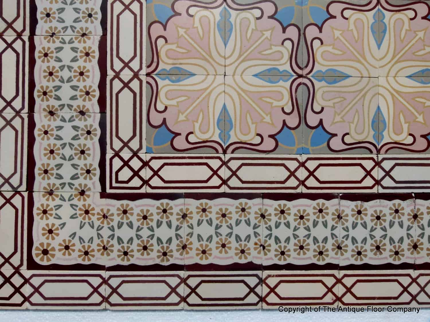 Art deco tiles style contemporary tile design ideas from around art deco tiles style dailygadgetfo Images