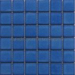 Blue Floor Tiles Style