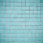 Blue Tiles Decoration