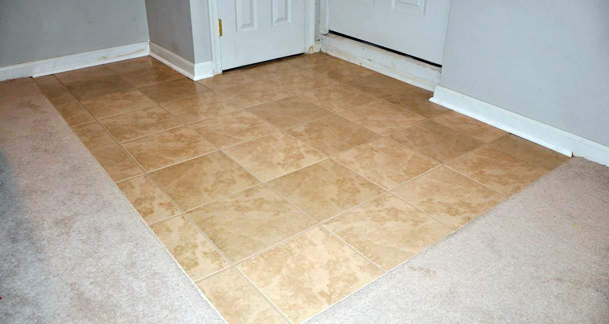 Carpet Tiles Basement Home Design Contemporary Tile