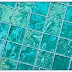 Clear Glass Tiles Decoration
