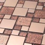 Copper Tile Decoration