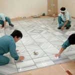 Floor Tile Installation Interior Design