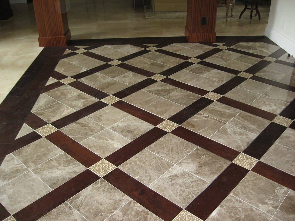 Floor Tile Installation Picture