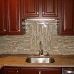 Glass Backsplash Tiles Example