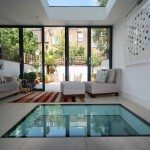 Glass Floor Tiles Interior Design