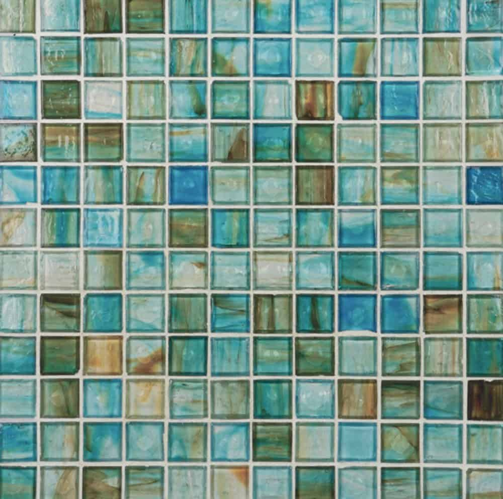 Glass Tile Style Contemporary Tile Design Ideas From