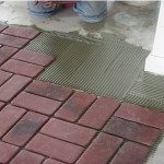 Installing Ceramic Tile Decoration