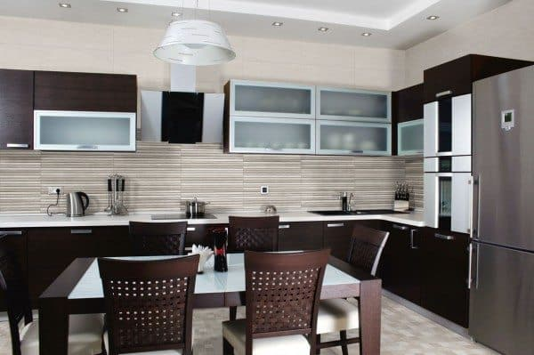 Kitchen Wall Tiles Interior Design