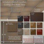 Leather Tiles Interior Design