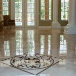Marble Floor Tiles Decoration