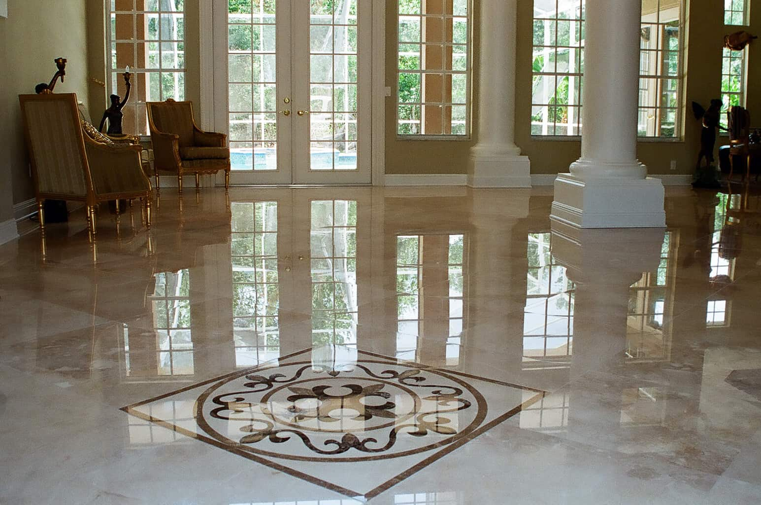 Marble Floor Tiles Decoration Contemporary Tile Design Ideas From