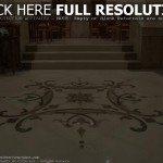 Marble Floor Tiles Design