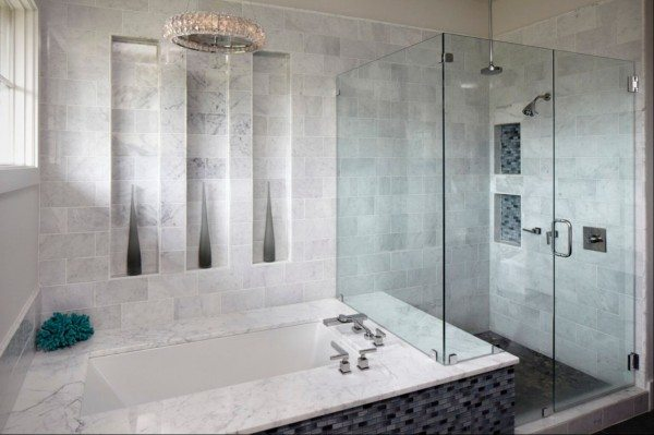 Marble Tile Bathroom Design