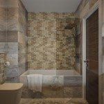 Mosaic Tiles Bathroom Home Design