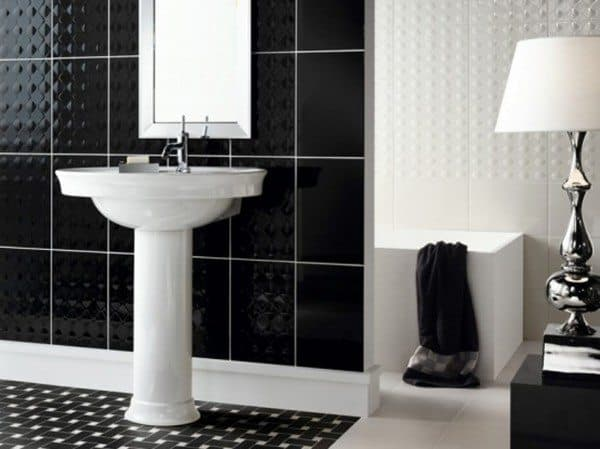 Mosaic Tiles Bathroom Interior Design