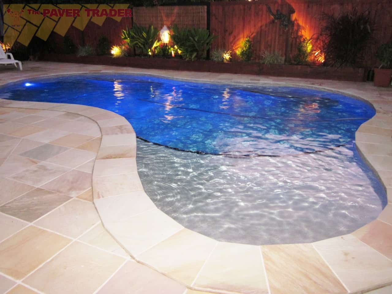 Pool tiles and more pictures and ideas contemporary tile for Pool tile designs