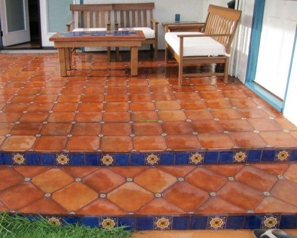 Saltillo Tiles Decoration