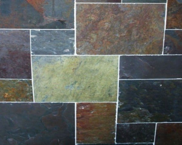 Slate Floor Tiles Decoration
