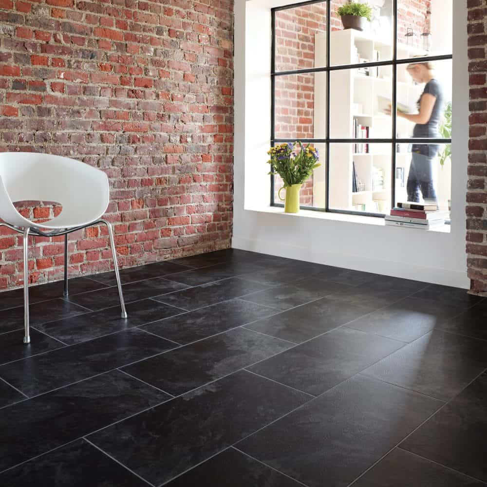 Slate Floor Tiles Example Contemporary Tile Design Ideas From