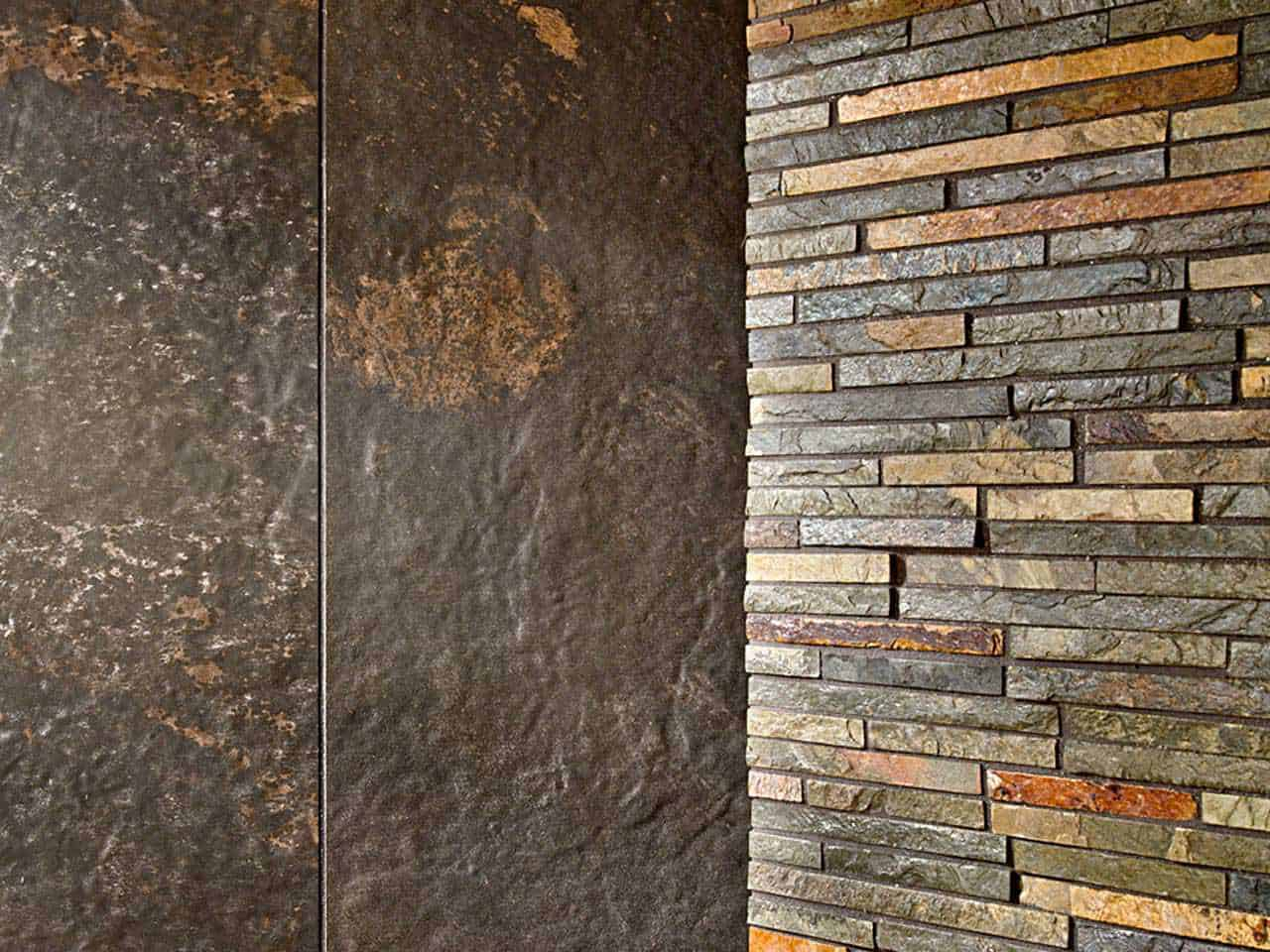 Stone tile for walls tile design ideas Mosaic tile wall designs