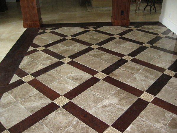 Tile Flooring Decoration