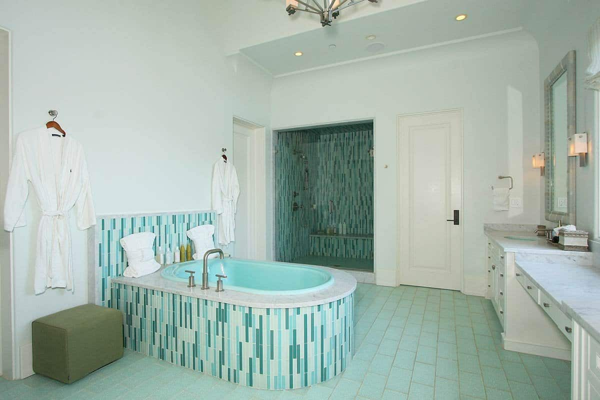 Tile Paint For Bathrooms Interior Design – Contemporary Tile Design ...