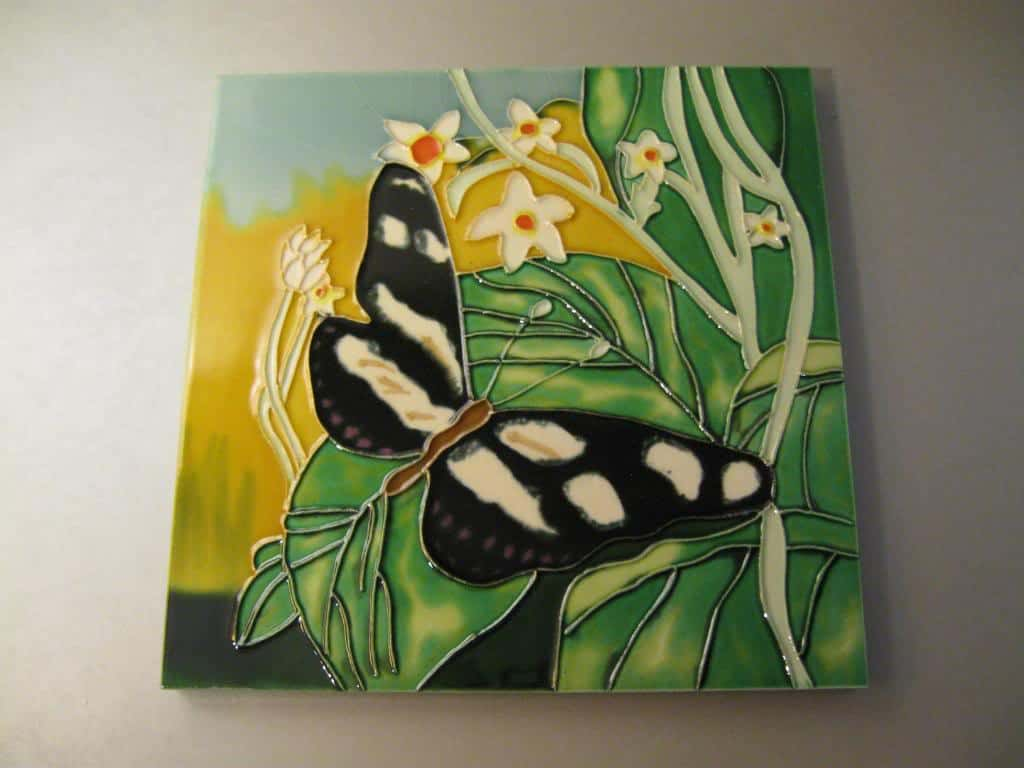 Tile Painting Photo Contemporary Tile Design Ideas From