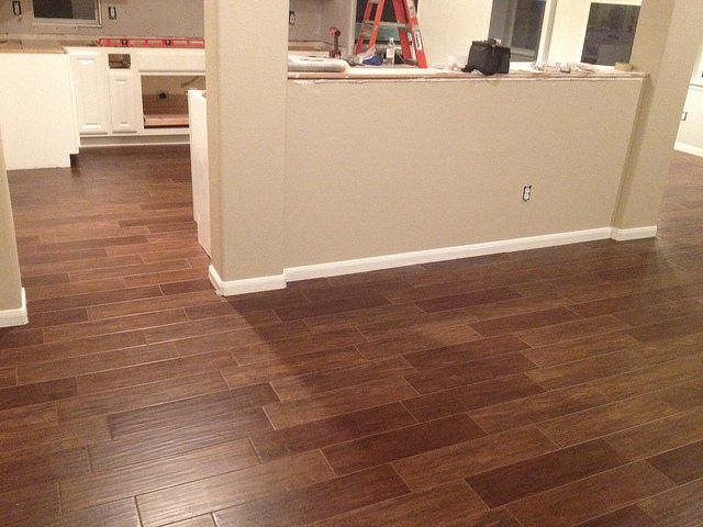Tile That Looks Like Wood Style Contemporary Tile Design Ideas