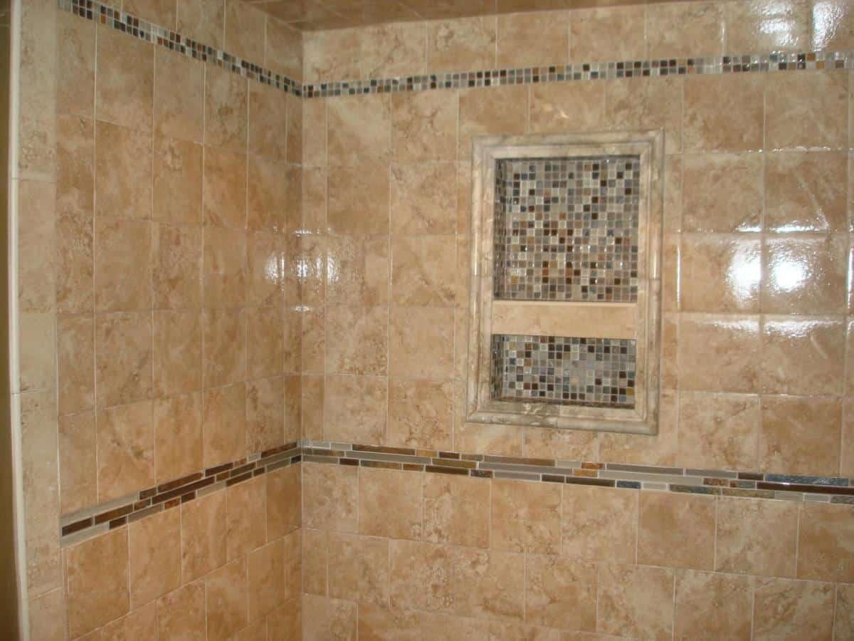 Tiled Showers Decoration