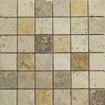 Travertine Mosaic Tiles Design