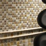 Travertine Mosaic Tiles Image