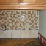 Travertine Mosaic Tiles Photo