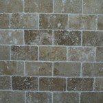 Tumbled Travertine Tile Decoration