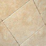Tumbled Travertine Tile Design