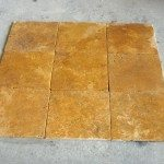 Tumbled Travertine Tile Example