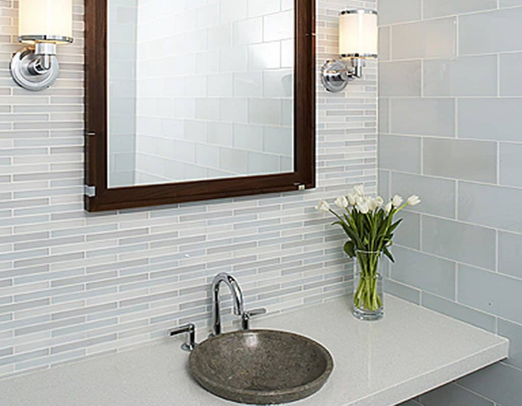 White Wall Tiles Photo