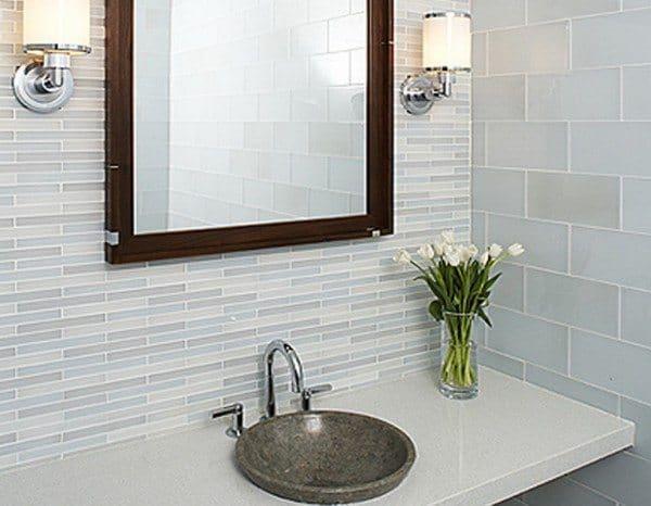 Glass Bathroom Tiles 2014