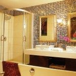 Glass Bathroom Tiles Design