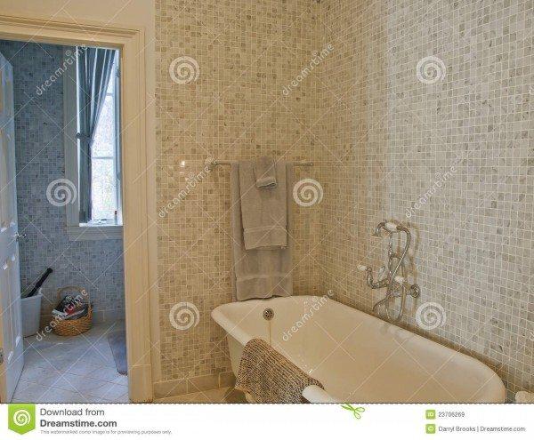 Glass Bathroom Tiles Style