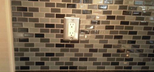Glass Tile Backsplash Ideas Photo