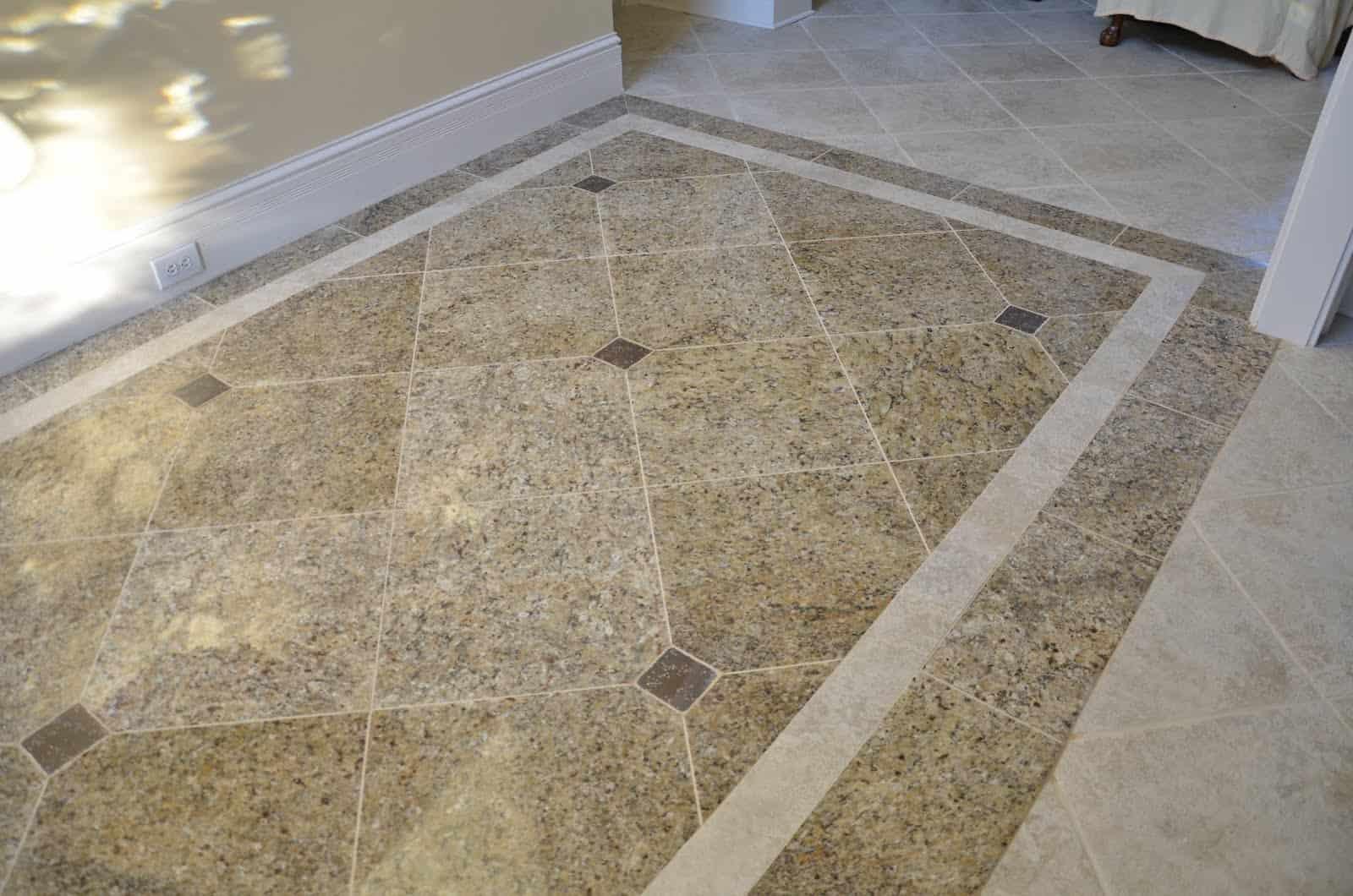 Granite Floor Tiles Photo