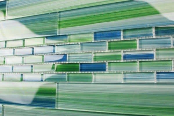Green Glass Tile 2014