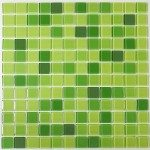 Green Glass Tile Home Design
