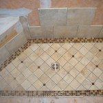 How To Tile A Shower Floor Design